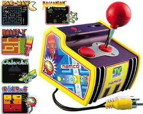Namco The Original PAC-MAN Arcade Classics Collection 5 Video Plug and Play T...