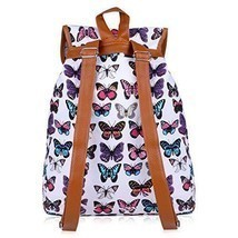 Back To School Womens Backpacks Canvas School Casual Sports Daypack Trav... - $48.29