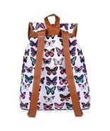 Back To School Womens Backpacks Canvas School Casual Sports Daypack Trav... - £36.23 GBP