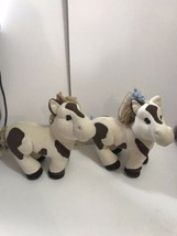 2005 Appalachian Artworks Cabbage Patch doll Horse Plush Pony lot 2 for twins - $34.60