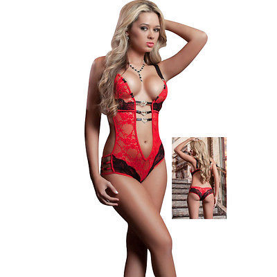 c8ee8faa188 Hot Sexy Lingerie Erotic Foreplay Lace Teddy and 50 similar items. 1