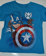 Marvel Comics  Boys Captain America  Various Sizes    Blue NWT  - $9.79
