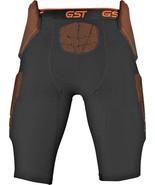 Wilson Football Girdle GST 5-Pad Compression Padded Pants Adult: XL Blac... - $31.52
