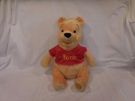 "The Disney Store 16"" Plush Winnie the Pooh Bear Genuine Original Authentic Patch - $11.22"