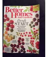 Better Homes and Gardens Fresh Start Garden Issue  April 2016 - $5.00