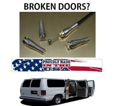 FORD VAN Fix  BROKEN RIGHT SIDE or BACK Door FORD ECONOLINE 92-2007 - $52.00