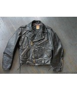 Rare 1960's Taubers of California Horsehide Rocker Biker Motorcycle Jacket - $475.00