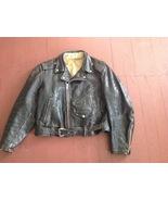 Rare1950s Rockabilly Horsehide Rocker Hotrod Biker Lifestyle Motorcycle ... - $475.00