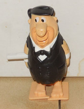 2000 Burger King Kids Meal Toy Flintstones In Viva Rock Vegas Fred In Tuxedo Win - $2.00