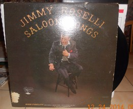 Jimmy Roselli Saloon Songs UAL 3451 LP Record United Artists - $14.00