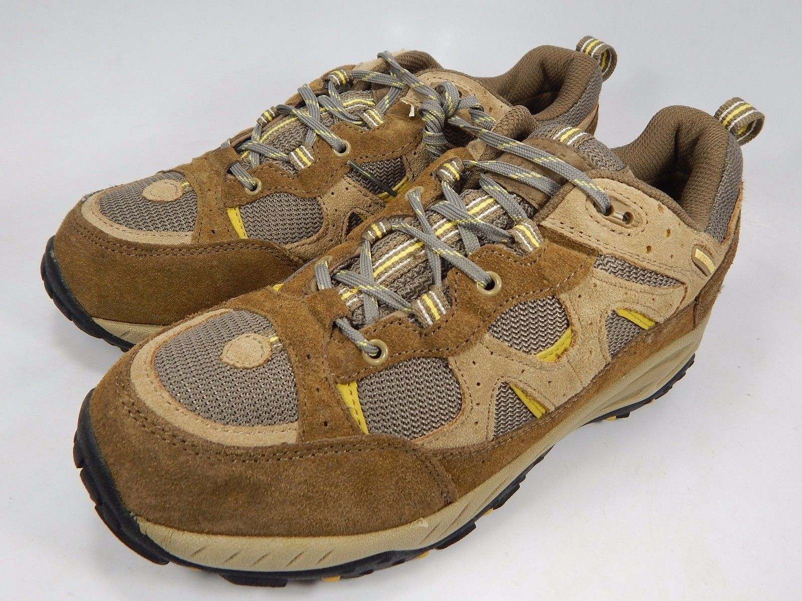 Alpine Design Women's Waterproof Hiking Trail Shoes Size US 8 M (B) Beige Brown
