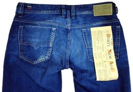 NEW DIESEL MEN'S PREMIUM DESIGNER STRAIGHT LEG JEANS VIKER 008MZ SIZE 29X32