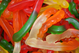 GUMMY WORMS ALBANESE, 1LB - $8.90
