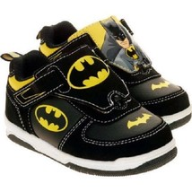 NEW DC Boys Toddler Batman Reversible Picture Sneakers Size 7 8 11 or 12 - $22.99