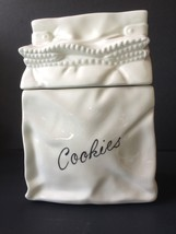 White Lunch Bag Cookie Jar - $39.59