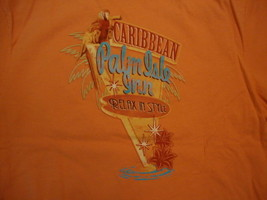 Caribbean Palm Isle Inn Relax in Style Salmon Color T Shirt XL - $17.17