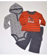 NEW Baby Boys 6m Carter's Just One You 3 Piece ... - $12.99
