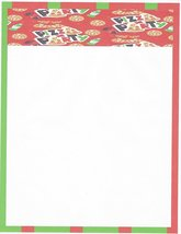 Pizza Party Stationery Printer Paper 26 Sheets - $9.99
