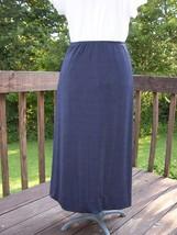 Long Boot Length Skirt No Iron Black SZ Medium - $5.99