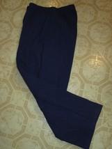 My Boyfriend Navy Elastic Waist Pants Womens - $12.99