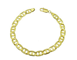Solid Men's 14k Yellow Gold Gucci Link Bracelet - $1,160.00