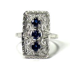 14k Antique Art Deco Ring - $880.00