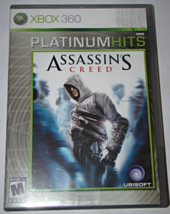 XBOX 360 - UBISOFT - ASSASSIN'S CREED (Complete with Manual) - $6.50