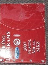 2007 FORD Fusion Mercury Milan Lincoln MKZ Wiring Diagram Shop Manual EWD - $62.32