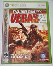 XBOX 360 - UBISOFT - RAINBOW SIX VEGAS 2 (Complete with Manual) - $6.50