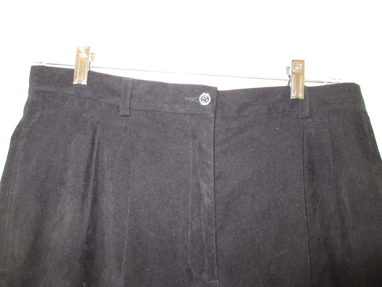 Liz Claiborne Lizsport Black Pants Size 16