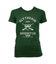 SEEKER Old Slytherin quidditch team Women tee Forest Green S to 3XL - €17,17 EUR+