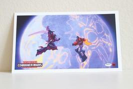 2016 SDCC Hasbro Exclusive Transformers Combiner Wars Post Card 8.5x5 - $6.92