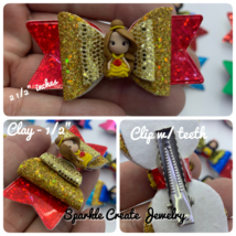 Limited Edition Princess Clay Bow image 2