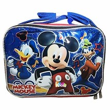 NEW Disney Mickey Mouse Insulated School Lunch Bag with Shoulder Strap - $15.99