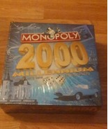 Parker Brothers Monopoly 2000 Millennium Edition Board Game New - $9.50