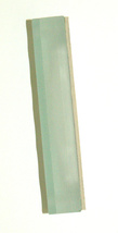 Judaica Mezuzah Case Frosted Matte Glass Sparkling Silver SHADAI 7 cm Judaism image 2