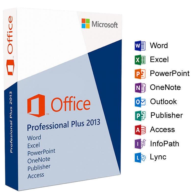 MS Office 2013 Professional Plus 32 64 Bit Activation Key