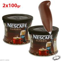 Greek frappe 2x 100gr NESCAFE Instant Coffee & ... - $26.90