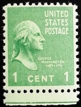 1938 1c George Washington Scott 804 Mint F/VF NH - $0.99