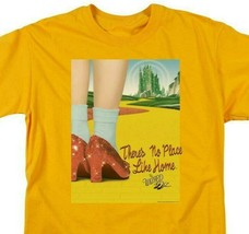 The Wizard of Oz t-shirt No place like home retro 30's gold graphic tee OZ111 image 2
