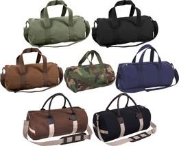 "Canvas Sports Gym Duffle Carry Shoulder Bag & Strap - 19"" - $15.99+"
