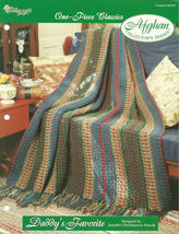 Needlecraft Shop Crochet Pattern 962290 Daddys Favorite Afghan Collector... - $4.99