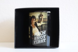 New Star Wars Han Solo Coffee Mug Han Shot First Disney Toy - $14.84