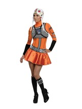 Secret Wishes Star Wars Womans  X-Wing Fighter, Orange/Black, X-Small - $88.02