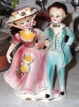 vintage arnart colonial couple figurine - $13.99