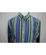 Ralph Lauren Golf Men's Long Sleeve Custom Fit Button Down Shirt Size L - $19.79