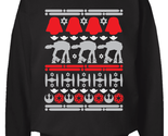 Star Wars Christmas Sweater Sweatshirt Black Size S - 2XL Ugly Sweater Party