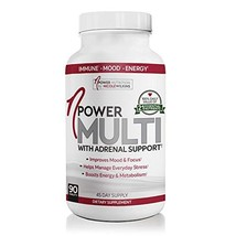 nPower Nutrition Multivitamin with Adrenal Support, Stress & Immune Support, Ene