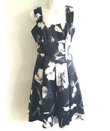 White House Black Market Floral Dress S-2us - $35.99