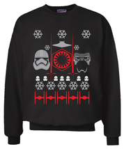 Star Wars The Force Awakens Christmas Sweater Sweatshirt S - 2XL Ugly Sw... - $29.99+